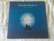 David Gilmour SIGNED On An Island LP Album Pink Floyd PROOF