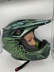 Bell Moto-8 Motocross Enduro SxS Helmet Razor Wing Green Medium