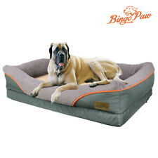 Heavy Duty Large Orthopedic Pet Bed Soft Cushion Foam Waterproof Sofa Dog Bed XL