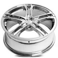"4ea 17"" Verde Wheels V36 Protocol Chrome Rims (S41)"