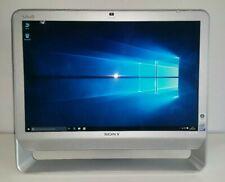 Sony Vaio Desktop All In One VGC-JS1E 4GB RAM 1TB HDD - Windows 10 Pro