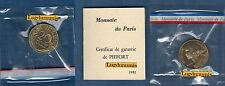 Piéfort - 20 Centimes Marianne 1981 RARE 150 Exemplaires FDC PIEFORT