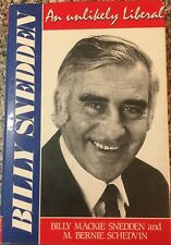 BILLY SNEDDEN AN UNLIKELY LIBERAL