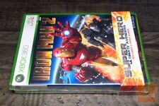Thor + Iron Man 2 Super Hero Double Pack (Xbox 360 2011) FACTORY SEALED! - EX!