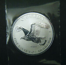 2017 Canada $5 Reverse Proof Birds of Prey Series Bald Eagle 1oz Silver Coin