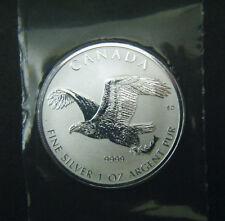 2017 Canada $5 Reverse Proof Birds of Prey Series Bald Eagle 1oz Silver Coin