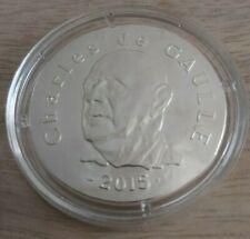 Pièce de 10 euros, FRANCE, 2015, Charles De Gaulle, BBC, sous capsule