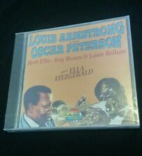 Louis Armstrong Oscar Peterson Giants of Jazz NEW SEALED!!