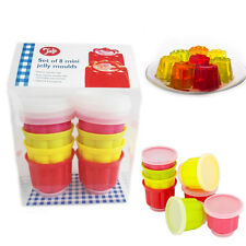 Tala Jelly Moulds Set of 8 Mini Easy Removable Kid's Birthday Party Plastic Mold