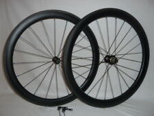 Carbonal 50mm deep, tubeless ready carbon clincher wheels with new rim design