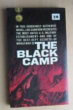 1963 FIRST GOLD MEDAL PAPERBACK THE BLACK CAMP LOU CAMERON NEAR PRISTINE