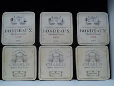 Pimpernel Vin De France 6 Coasters  Made in England