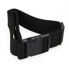 Luggage belt strap Belt Cord Rope Black for Suitcase Travel Bag 2M LW