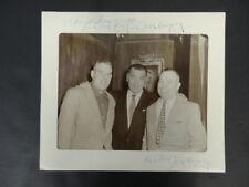 Jack Dempsey Dual-Signed Mat Autograph Auto PSA/DNA AC01121