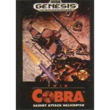 Twin Cobra For Sega Genesis Vintage Game Only