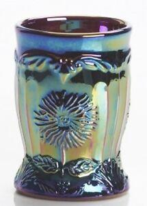 Tumbler - Dahlia - Amethyst Purple Carnival Glass - Mosser USA
