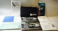 New listing 2018 Dodge Ram Promaster Owners Manuel User Guide w/Case Oem *Ships Free*