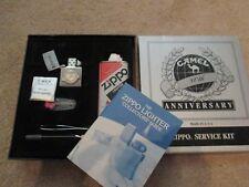 Mega Rare Zippo Lighter Camel 80th Anniversary Service Kit circa 1992