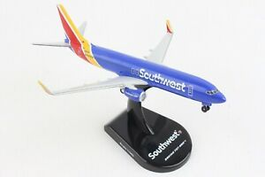 POSTAGE STAMP (PS5815-7) SOUTHWEST 737-800 1:300 SCALE DIECAST METAL MODEL