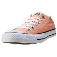 Womens Converse Chuck Taylor All Star Ox Canvas Orange Shoes Trainers Casual