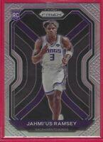 2020-21 Prizm Jahmi'us Ramsey silver Prizm Rookie RC #263 Sacramento Kings