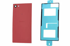 Genuine Sony Xperia Z5 Compact E5803, E5823 Coral Battery Cover with Adhesive -