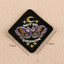 Embroidered Sew Iron On Patches Bag Badge Fabric Clothes Applique Dress Transfer