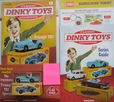 CLASSIC DINKY TOYS COLLECTION NO 1.TRIUMPH TR2 SPORTS.NEW SEAL WITH WELCOME PACK