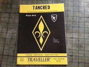 Traveller RPG Tancred Adventure Supplement (Judges Guild 1980)