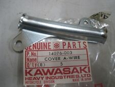 KAWASAKI NOS ENGINE WIRING HARNESS COVER 14076-003 F11 F11A F11B 1973-75