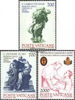 Vatikanstaat 894-896 (kompl.Ausg.) postfrisch 1986 Schutzpatrone