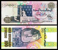 Egypt 100 £ Pounds 1978 P53a UNC > *TUTANKHAMEN ***