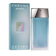 Azzaro Chrome Sport for Men Eau de toilette EDT Spray 100ml BNIB