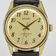 Auth SEIKO LORD MARVEL 36000 Ref.5740-8000 Hand-winding Watch for Men #k6590