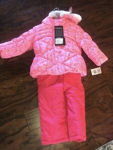 toddler snow suit 2t