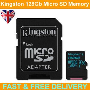 Kingston Canvas Select Plus 128GB Class 10 MicroSD Memory Card + Adapter