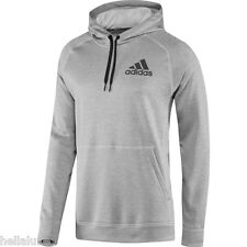 Adidas TEAM ISSUE FLEECE PULLOVER HOODIE Sweat Shirt CLIMAWARM Top Track~Mens XL