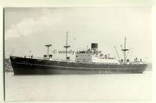 c0239 - Shaw Savill Line Cargo Ship - Romanic , built 1954 - photograph Byass
