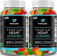 Hemp Gummies for Stress Relief - 350000-120ct - Gummy - Great for Stress, Insomn