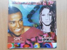 PROMO- CD-SINGLE (Brazil/ Brasilien): SPC/ GLORIA ESTEFAN- Santo Santo