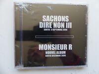 CD Album MONSIEUR R Sachons dire non III   OTCD1001