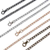DIY Metal Purse Chain Strap Handle Shoulder Crossbody Bag Handbag Replacement Fy