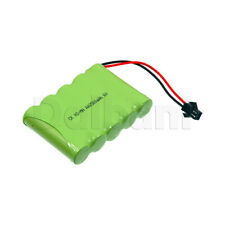 Rechargeable Battery Ni-MH AA with Cable 2 Pin 6V 2500mAh