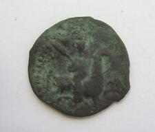 ANTIQUE TURKISH OTTOMAN ISLAMIC BRONZE COIN EXR RARE!
