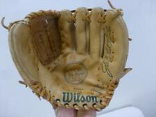 Wilson Signature Pro Model A2160 Jim Catfish Hunter Web lthr Baseball Glove RHT