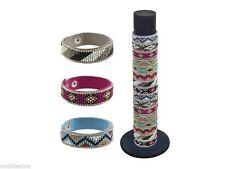Unisex Modeschmuck-Armbänder im Freundschafts-Stil aus Leder