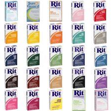 Rit Dye Powder Clothing Fabrics Dye Natural Materials, Nylon Based Plastic, Wool