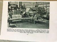 m17a7 picture ephemera 1930s messrs butler & tanner ltd book making