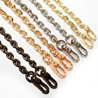 "47"" Long Metal Replacement Chain Fit Shoulder Bag Handbag Strap Cross Body Chain"