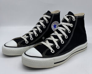 Vintage Converse Chuck Taylor Made In The USA Classic Black High Top US 6